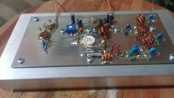 Amplificador De/rf/130/150wattsp/ Pll7watts 87/108 Blf177
