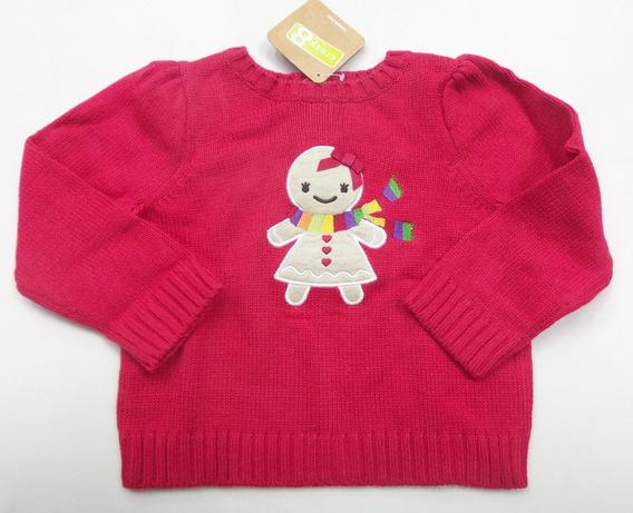 Sueter Infantil Gymboree 6-12meses - Tricot Gingerbread
