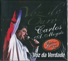 Cd Duplo Voz Da Verdade Voz De Ouro Coletânea Original