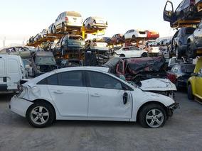 Cruze Accidentado 2012,motor ,transmision Standar Partes