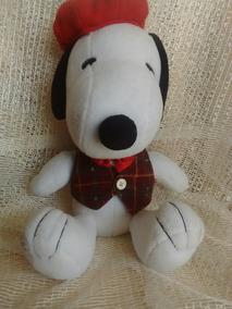 Snoopy Boina Roja Y Chaleco