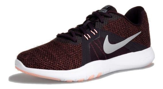 Tenis Nike Flex Trainer 8 - Negro/morado - Mujer Correr Gym