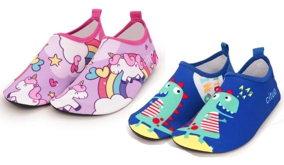 Sapato De Praia Infantil Neopreme Antiderrapante Sapatilha