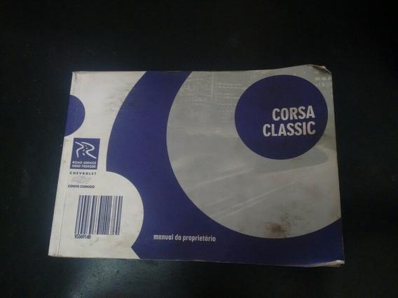 Manual Corsa Classic Original Usado