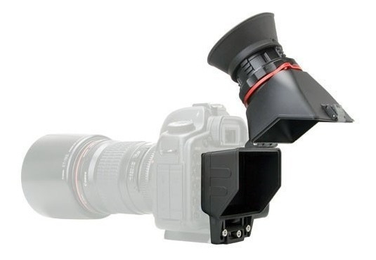Viewfinder Visor Lcd C/dioptria Nikon Canon Sony 3,2 Poleg