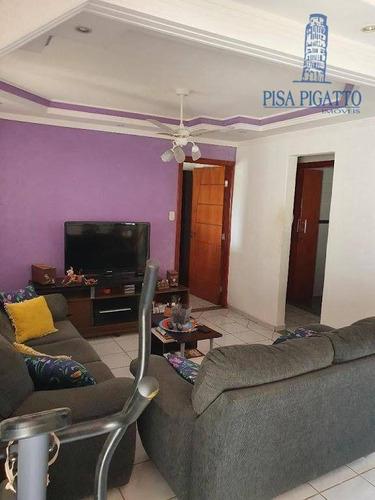 Casa Com 2 Dormitórios À Venda, 162 M² Por R$ 400.000,00 - Vila Monte Alegre Iii - Paulínia/sp - Ca2418