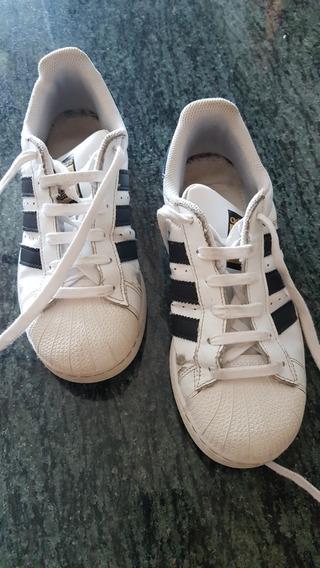 Zapatillas adidas Original Super Star Talle 4 Usa