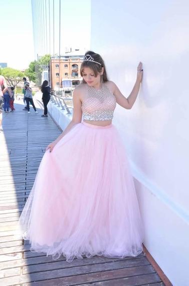 Alquilo Vestido De 15 Años De Tres Piesas