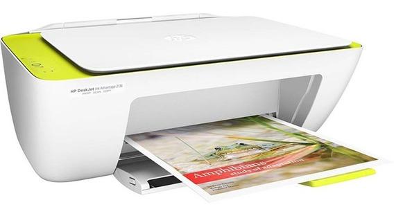 Impressora Cor Multifuncional Hp Deskjet Ink Advantage 2136