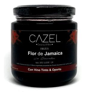 Vinagreta De Jamaica Para Ensaladas O Quesos 220g