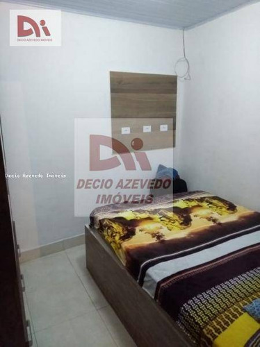 Casa Com 1 Dormitório À Venda, 50 M² Por R$ 130.000,00 - Vila Iapi - Taubaté/sp - Ca0051