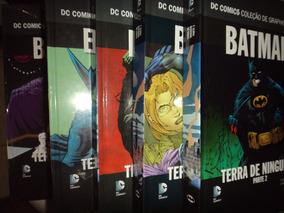Graphic Novels Batman Terra De Ninguem 1 2 3 4 5 Eaglemoss