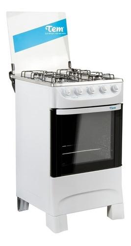 Cocina Tem Mastercook Blanca 4 Hornallas Autolimpiante Pcm