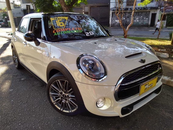 Mini Cooper S Exclusive 2.0 Turbo 2016 Branco 26.000km