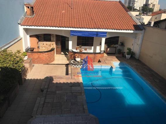 Sobrado Com 3 Dormitórios À Venda, 366 M² Por R$ 1.350.000,00 - Vila Santa Catarina - Americana/sp - So0134