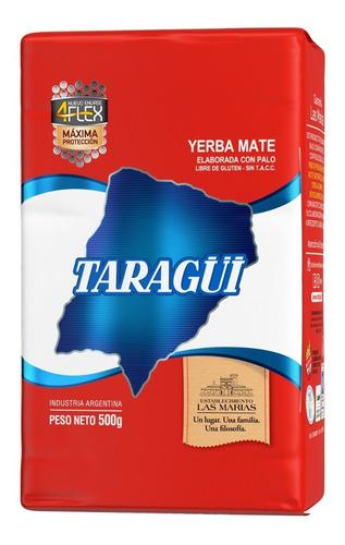 Yerba Mate Taragüi Con Palo 4flex 1/2 Kg