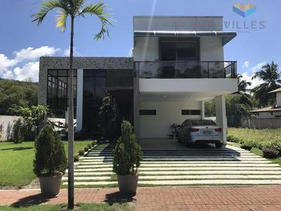 Condomínio Morada Da Garça Casa Residencial À Venda, Garça Torta, Maceió. - Ca0089