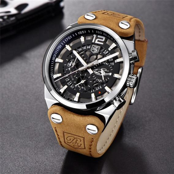Relógio Masculino Benyar Pronta Entrega Modelo 5112 + Brinde