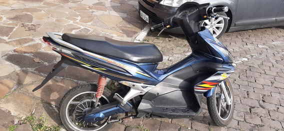 Moto Elétrica 1500w Azul, Leia A Descrição