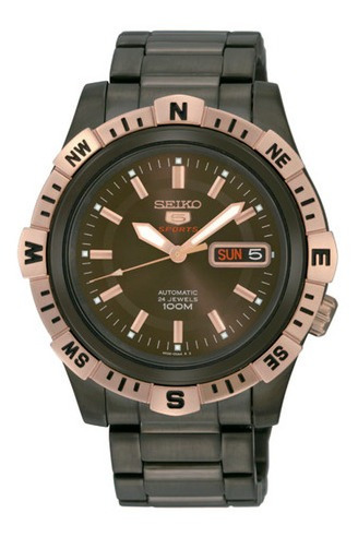 Reloj Seiko Srp148k1 Para Caballero Ext De Acero