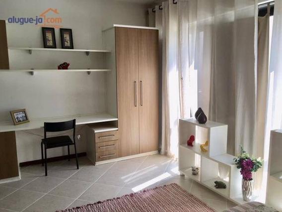 Apartamento Mobiliado Com 1 Dormitório Para Alugar, 49 M² Por R$ 1.650/mês - Jardim Aquarius - São José Dos Campos/sp - Ap2701