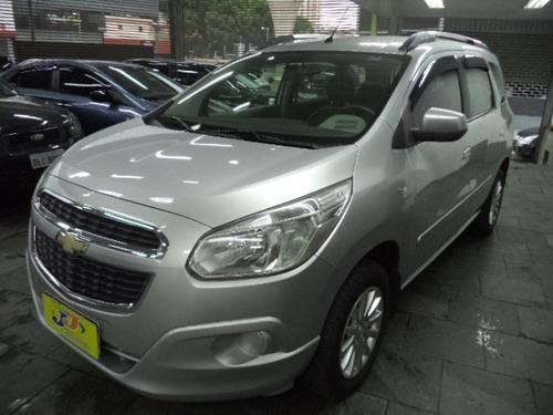 Chevrolet Spin Lt 1.8 8v Flex Autcompleto 2014 Prata