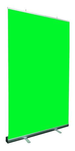 Fondo Infinito Verde - Tela Croma Armado Rapido 2.00 X 1.20