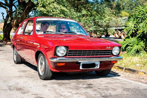 Chevrolet Chevette 1974 Com Menos De 84 Mil Km Originais