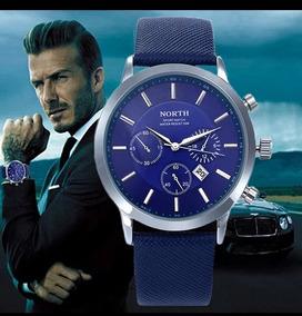 Relógio Masculino North ,muito Elegante + Brinde