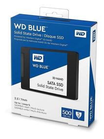 Hd Ssd 500gb Western Digital Blue 560mb/s Leitura