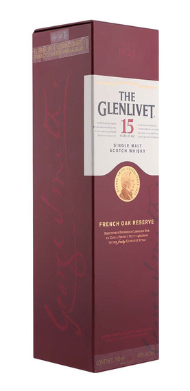 Whisky The Glenlivet 15 Años 750 Ml