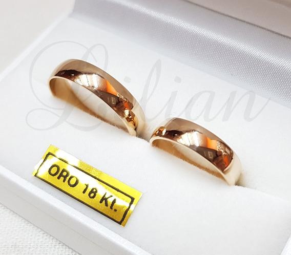 Alianzas Oro 18k 8 Gramos Casamiento Únicas!!!