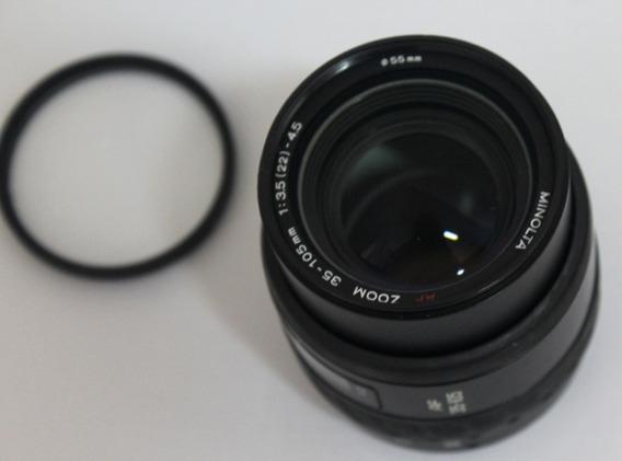 Lente Minolta Af Zoom 35-105mm F/3,5-4,5 Macro Para Sony