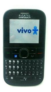 Celular Simples Alcatel 3075m,3g Roteador,wi-fi Rádio Anatel