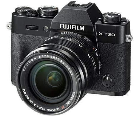 Vendo Câmera Fuji Film X-t20 Nova.