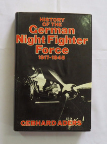 Livro Hist. German Night Fighter Force Luftwaffe 2ª Guerra