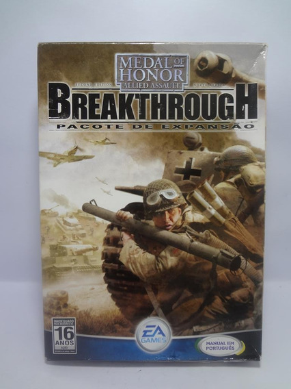 Jogo Game Pc Medal Of Honor Breakthrough Expansão