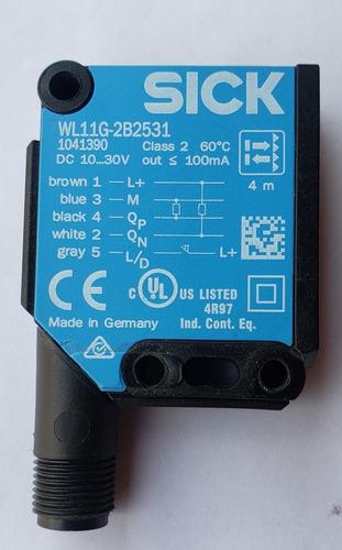 Sensores Fotoeléctrico Marca Sick Wl11g-2b2531 Dc 10....3ov