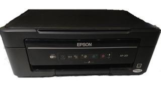 Impresora Wifi Multifunción Epson Xp 201 Color Escaner