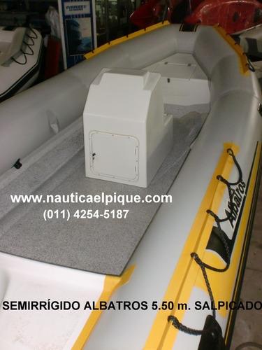 Semirrigido Albatros 5.00 Piso Salpicado 0 Km. 2021 Quilmes
