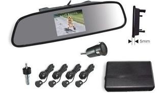 Espejo Retrovisor Camara Y Sensores Estacionamiento