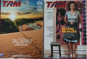 Revista Tam Nas Nuvens - 2 Edições - 16 E 79.