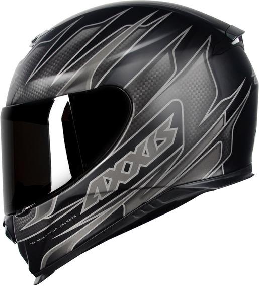 Capacete Axxis Eagle Speed Preto Fosco Capacete Moto