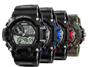 Relógio Masculino Esportivo Militar Shock Anadigi Promoção!