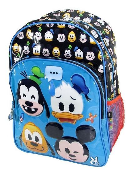Mochila Emoji Disney De Espalda Original 16 Pulgadas