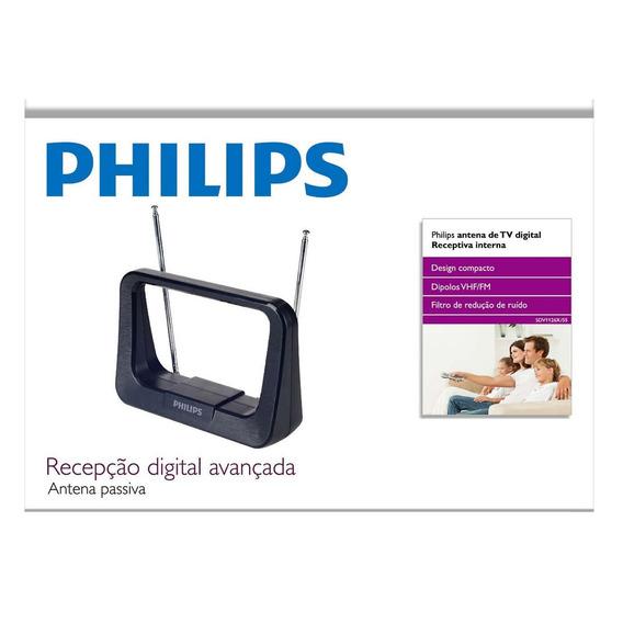 Antena Digital Interna Hdtv/uhf/vhf/fm Sdv1126x/55 Phips