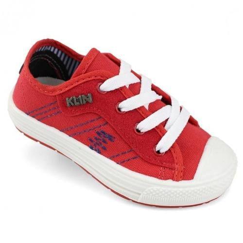 Tênis Klin Replay Vermelho Menino - 471055