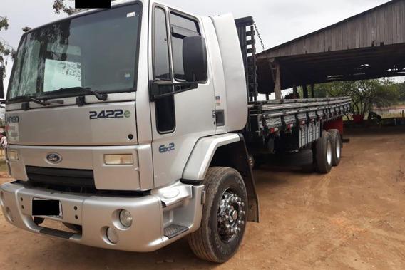 Ford Cargo 2422 6x2 Truck Carroceria = 2428