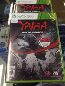 Yaiba Ninja Gaiden Z Especial Edition Xbox 360 Novo + Extras