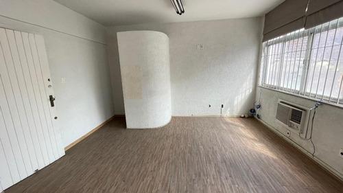 Conjunto Comercial, 43 M² - Venda Por R$ 110.000 Ou Aluguel Por R$ 900/mês - Centro - Santos/sp - Cj0120